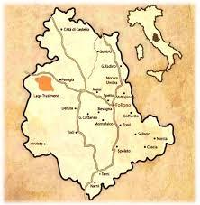 map of perugia hotel in foligno near perugia assisi villa dei platani