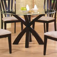 Dining Table Bases For Glass Tops Coaster Shoemaker Crossing Pedestal Table Base With Round Beveled