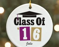 graduation ornaments etsy