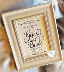 guest sign in book for wedding guest book sign 8x10 wedding signs cards and gifts