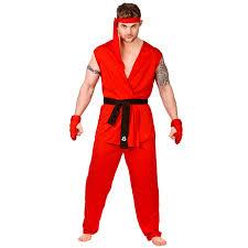 Karate Kid Halloween Costume Karate Kid Cobra Kai Skeleton Make Up Kit Ebay Mens Red Martial