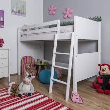 White High Sleeper Bed Frame Jango Children S White High Sleeper Bed The Children S Furniture