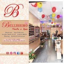bellissimo nails u0026 spa of northend boston home facebook