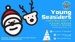 Christmas Party Ticket Young Seasiders U0027 Christmas Party Details Confirmed News Blackpool Fc