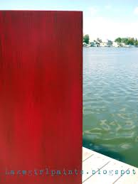 lake paints furniture redo in red painted furniture 2