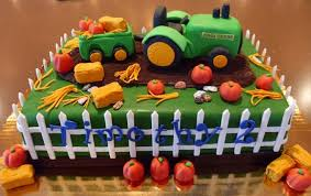 fall cake ideas using john deere tractor 102599 john deere