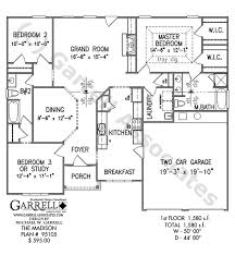 One Madison Floor Plans Madison House Plan Active House Plans