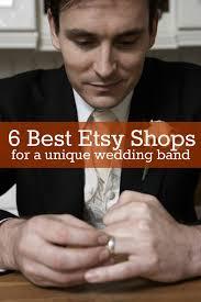 6 best etsy shops for a unique wedding band temple square