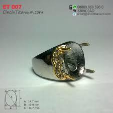 cincin online cincin emban titanium et 007 cincin titanium hitam asli