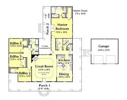 country style house plan 4 beds 2 50 baths 2452 sq ft plan 44 174