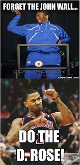 D Rose Memes - john wall vs derrick rose meme