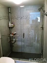 Clear Glass Shower Door by Shower Doors Custom Frameless Shower Doors Florida Shower Doors