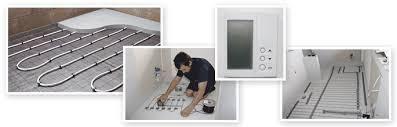 bathroom underfloor heating thermostat trilect electrical underfloor heating auckland electricians