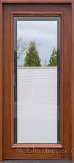 All Glass Doors Exterior Blinds Between Glass