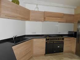 cuisine chene massif moderne cuisines modernes chene massif défibré et blanchi plan