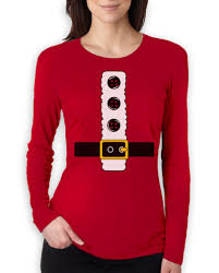 t shirts halloween santa jacket costume women long sleeve t shirt halloween funny mr