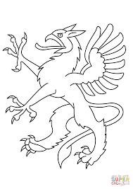 dragon head coloring pages heraldic dragon coloring page free printable coloring pages