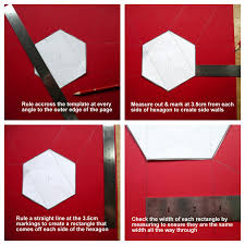 artfull crafts lisa with a tutorial for my hexagonal exploding box