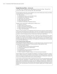 Demolition Resume Sample by Appendix C Sample Recovery Plans A Compendium Of Best