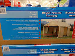 Carport Canopy Heavy Duty Steel Frame Canopy With Side Walls