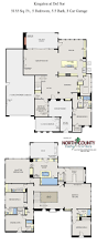 floor plans for kingston at del sur 5 bedroom new homes in san