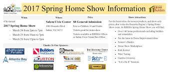 Home Expo Design Center Virginia Attendee Information Roanoke Regional Home Builders Association