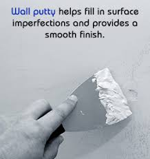 wall putty to apply wall putty