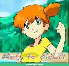 misty u0027s chance for returning in alola pokémon amino