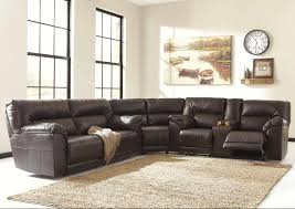 sofa small reclining sectional grey l shaped sofa leather