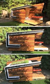 these modern dog houses are adorably stylish contemporary dog