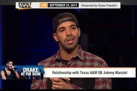 drake on espn talks about his relationship with texas a u0026m qb