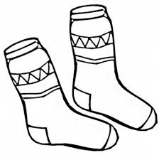 winter clothes coloring pages coloring