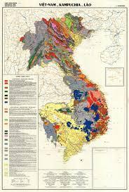 Map Of Laos Vietnam Geologic Map National Geographic Directorate Of Vietnam