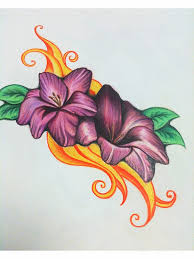butterfly and flower in pencil art images for u003e simple pencil