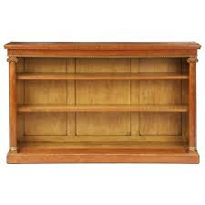 french neoclassical fruitwood antique bookcase shelf 19th century