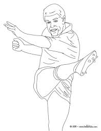 grant fox rugby player coloring pages hellokids com