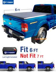 mazda pickup tyger tri fold for 82 13 ranger 94 11 mazda pickup 6ft 72in bed
