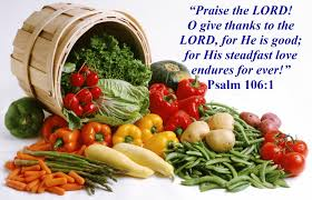 thanksgiving blessings praising god psalm 106 1 mission