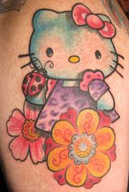 hello kitty tattoos by kristel oreto hawaii kawaii blog