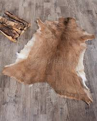 Hide Rugs Wholesale Scandinavian White Tailed Deer Hide Rug Fursource Com