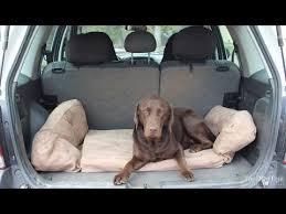 Barker Dog Bed Backseat Barker Dog Bed For Suvs Review Youtube