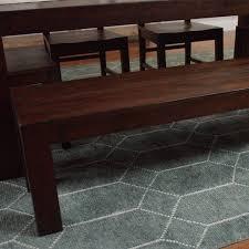 distressed wood donnovan dining bench world market
