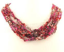 Ladder Trellis Yarn Patterns Crochet Beaded Necklace Tutorial Necklace Tutorial Bead