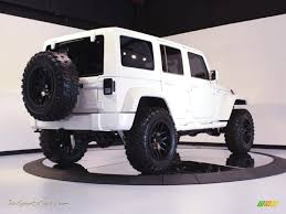 2011 Wrangler 2011 Jeep Wrangler Unlimited Sahara 4x4 In Bright White Photo 7