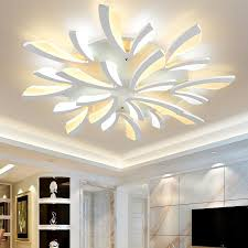 Led Ceiling Light Fixtures Acrylic Thick Modern Led Ceiling Lights For Living Room Bedroom