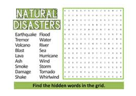natural disasters teaching resources geography volcano earthquake