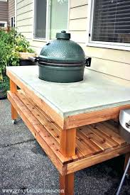 outdoor cooking prep table outdoor kitchen prep table francecity info
