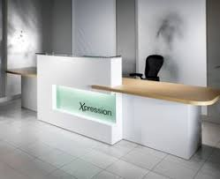 White Reception Desk Modern Office Reception Desk Richfielduniversity Us