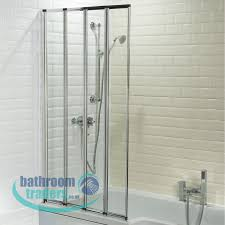 online bathroom store bathroom chrome 4 fold bath shower glass renica folding 4 panel shower bath screen