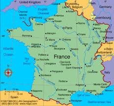 Le Havre France Map by France By Sarah Bremner